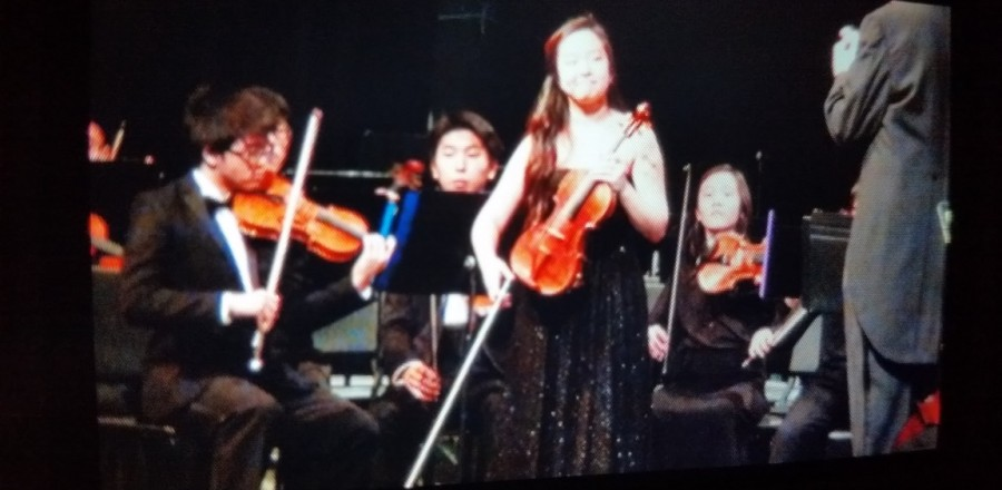 WPMA student Monica Chang performed solo with Gwinnett County Youth Symphony!